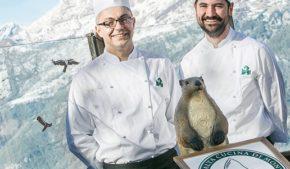Barbero e Carle, coppia di chef allo chalet Il Capricorno