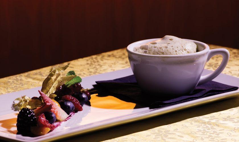 La cucina del Grand Hotel Imperial di Levico Terme propone piatti legati alla tradizione ma rivisitati