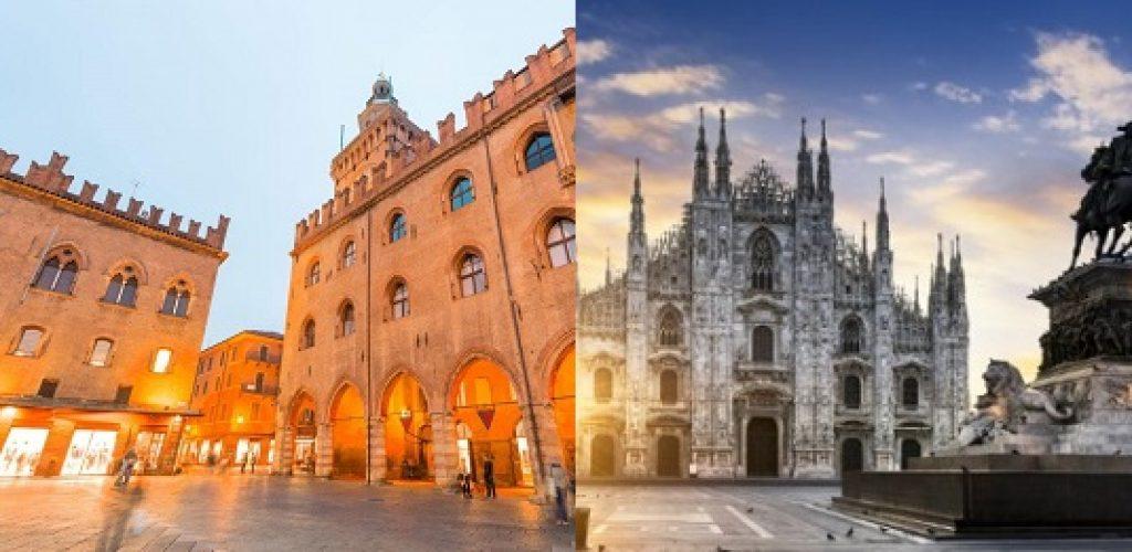 Il cibo al centro: Milano e Bologna un'unica grande metropoli