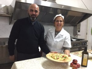 Ravioli ripieni di ricotta e mela anurca, specialità cool del Ristorante Fiore a Sant'Agata de' Goti