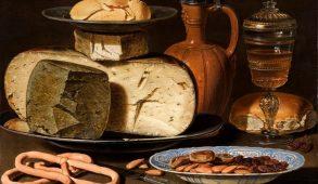 il cibo e la pittura, Clara Peeters.