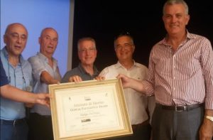 Giorgio Dal Prato vince a Bondeno Ferrara, il Global Excellence Award 2017