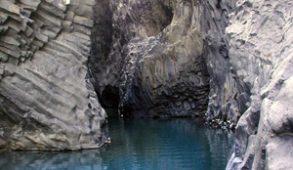 Le Gole dell'Alcantara in Sicilia