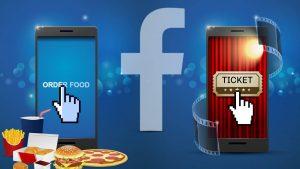 Negli Stati Uniti con Facebook si può ordinare cibo a domicilio