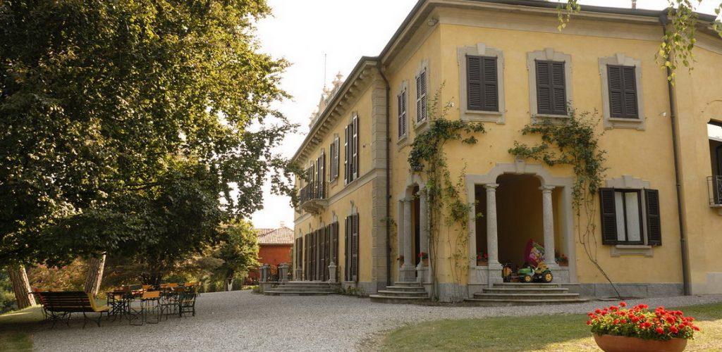 ville di delizia in Brianza: villa Mapelli Mozzi