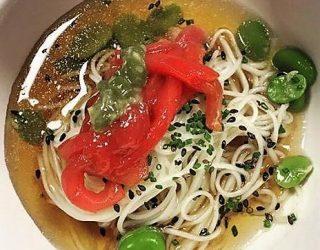 Il Giappone nel piatto: Maguro Shimabara Sōmen