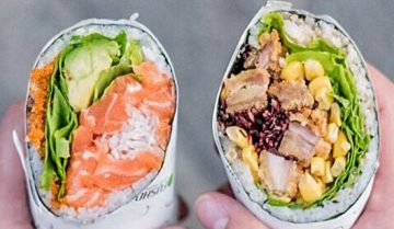 Lessico#foodcultural: Sushi burrito