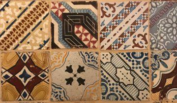 proverbi salentini: piastrelle caminetto