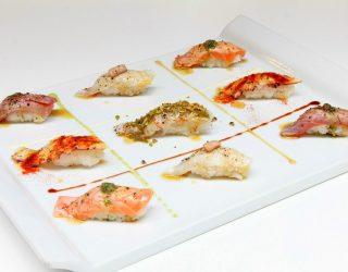 Cucina tradizionale, Alex Seveso e il nigiri, un sushi all'italiana