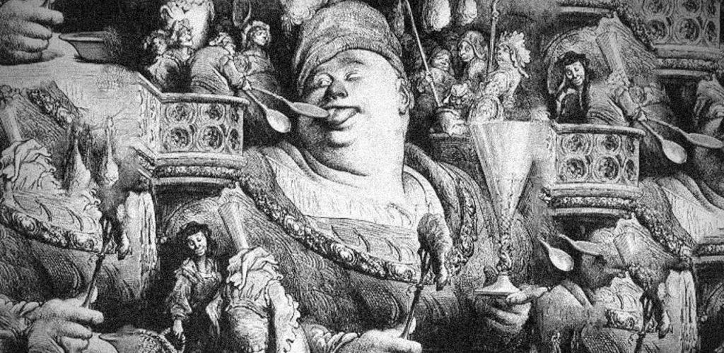 Rabelais, Gargantua e Pantagruel: il cibo e il grottesco. Cibo è cultura