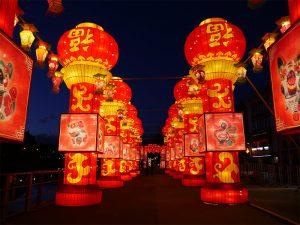 festa lanterne cinesi a Fico Bologna