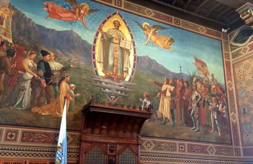 San Marino in nome di arte, cibo e cultura. Palazzo del Governo