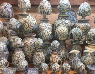 Grottaglie. l'atelier delle ceramiche