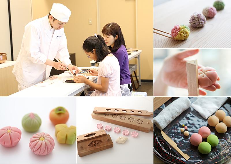 dolci giapponesi mosaico