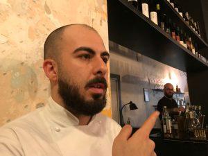 A Milano Mater Bistrot: lo chef Alex Leoni, ex writer