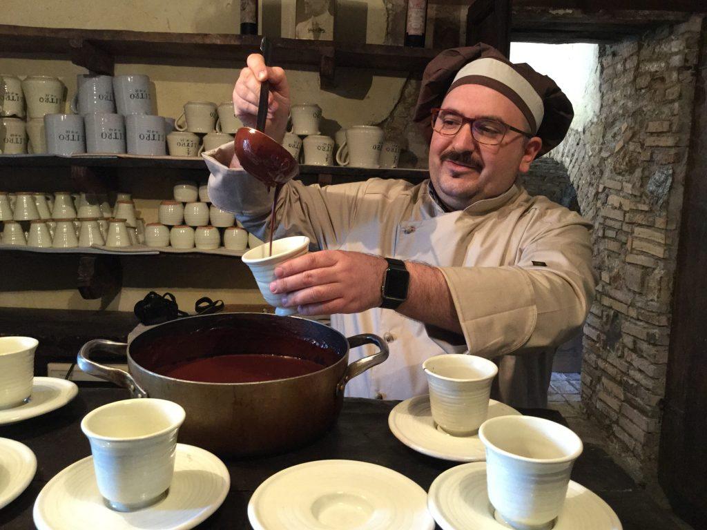 La cioccolata calda migliore: Merlini a Campli