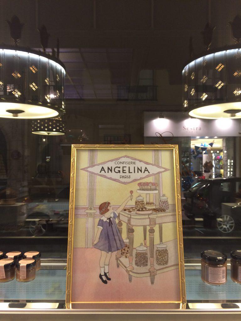 Parigi raccontata dalle vetrine delle pasticcerie: Angelina