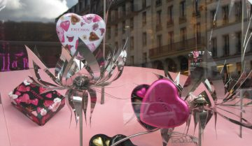Parigi raccontata dalle vetrine delle pasticcerie: Fauchon