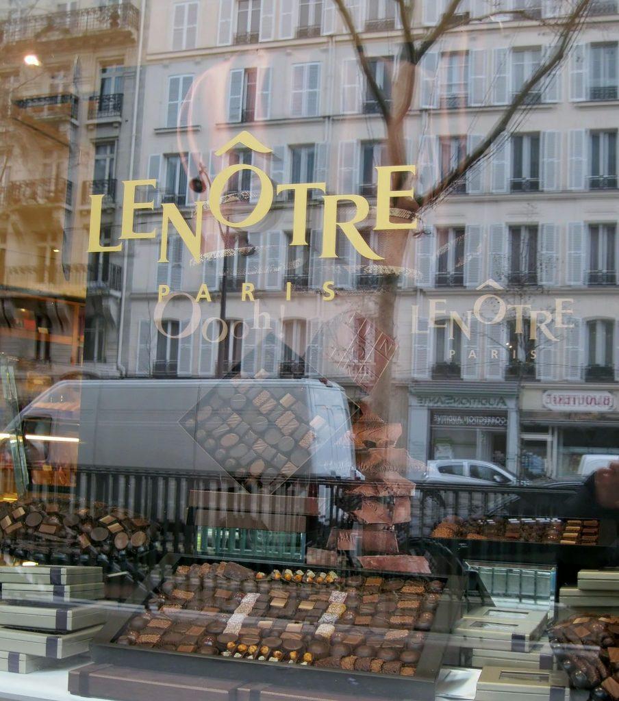 Parigi raccontata dalle vetrine delle pasticcerie: Lenotre