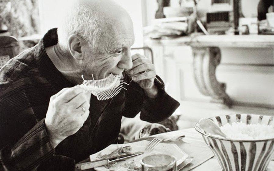 Picasso amava famelicamente cibo e cultura la lisca della sogliola alla mugnaia