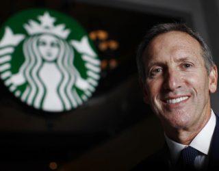 Cibo e politica: Howard Schultz. Sarà il prossimo candidato alla casa bianca?