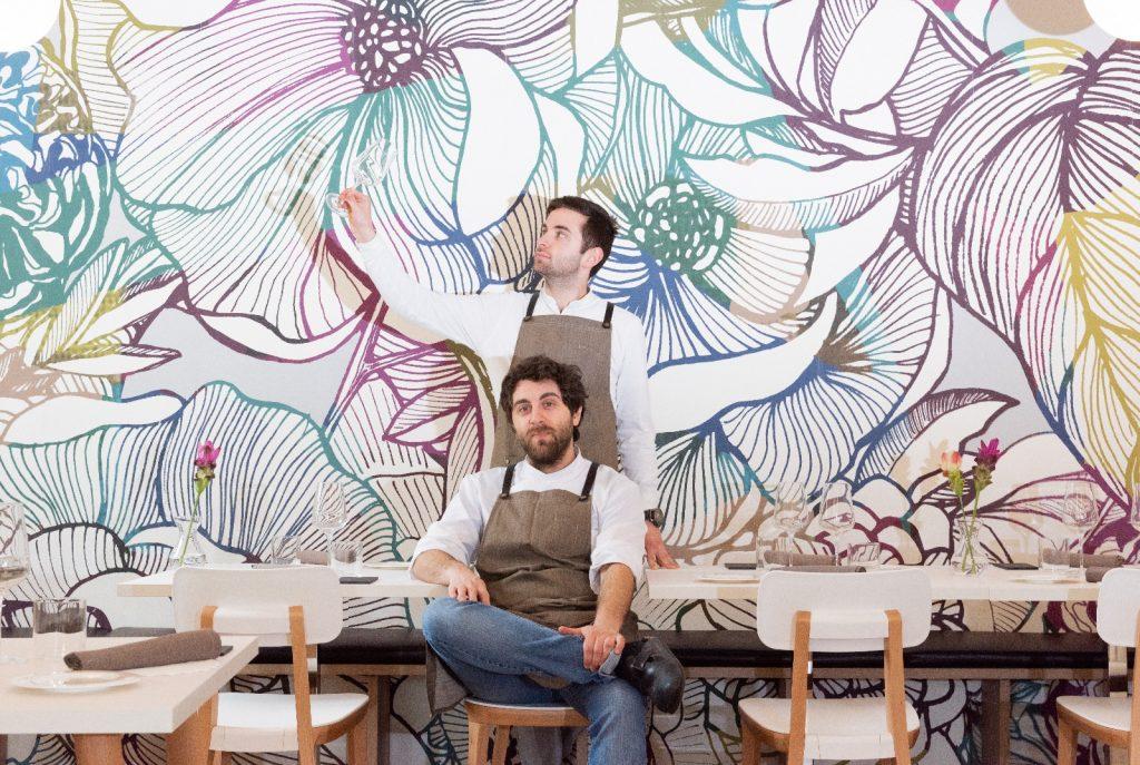 Flora, ristorante di natura e di design: i fratelli Escalante