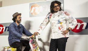 Alessandro Borghese e Mr.Brainwash: la cucina incontra la street art