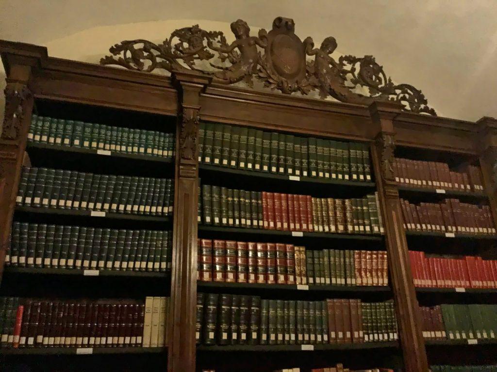 Lucera: biblioteca palazzo Cavalli