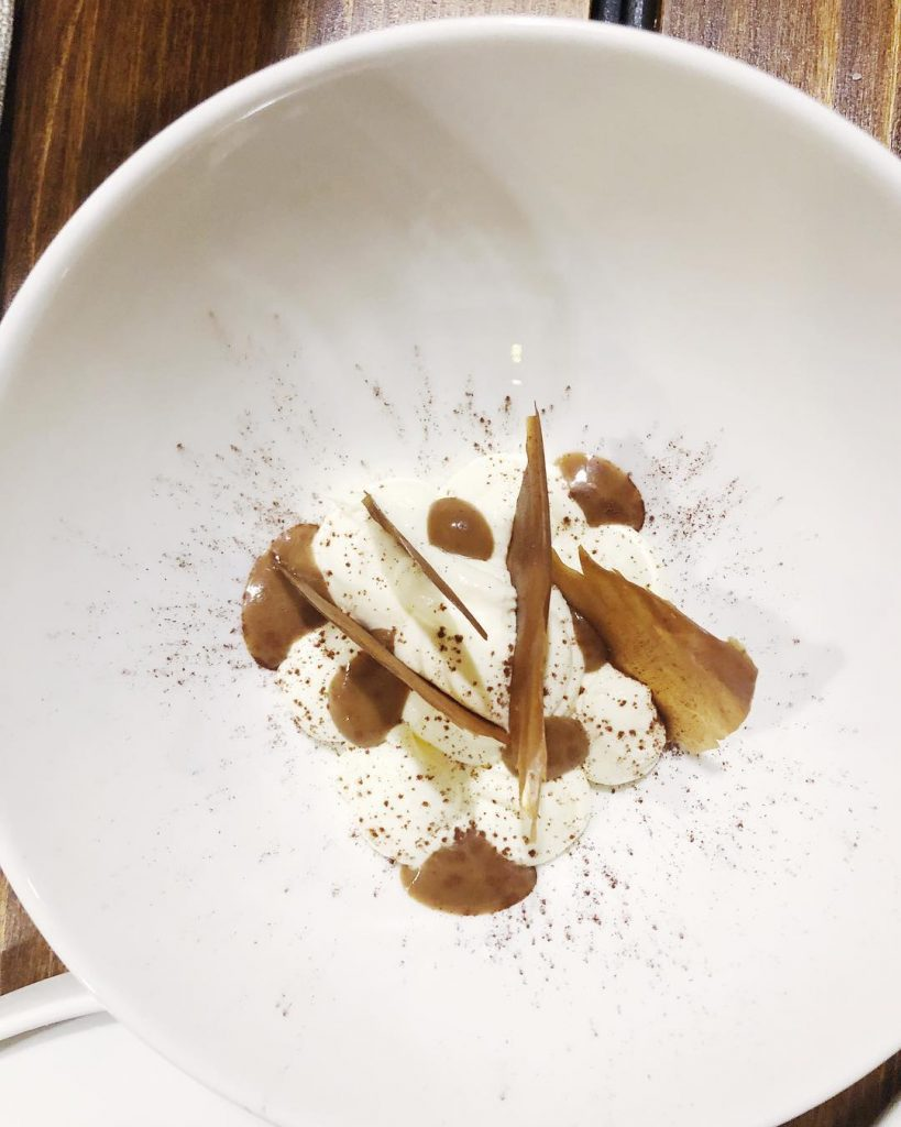 ristorante particolare: il tiramisu