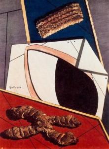 Giorgio De Chirico e i biscotti di Ferrara. a milano in mostra a Palazzo reale