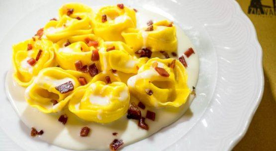 Osteria Zia Valentina a Morfasso: i ravioli di patate