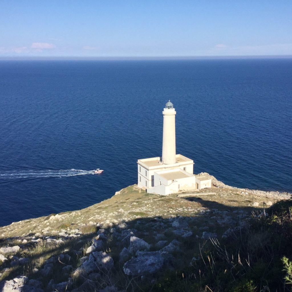 L'Italia più bella e da riscoprire: faro di Capo Palascia