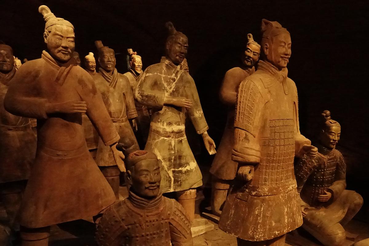 Il tesoro nascosto del Castello di San Pietro in Cerro i guerrieri di Xi'an