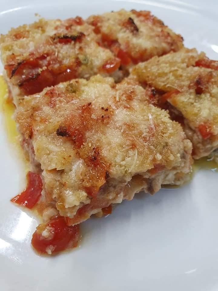ristorante calabrese dove cenare a Milano Le Saie: parmigiana pesce spada