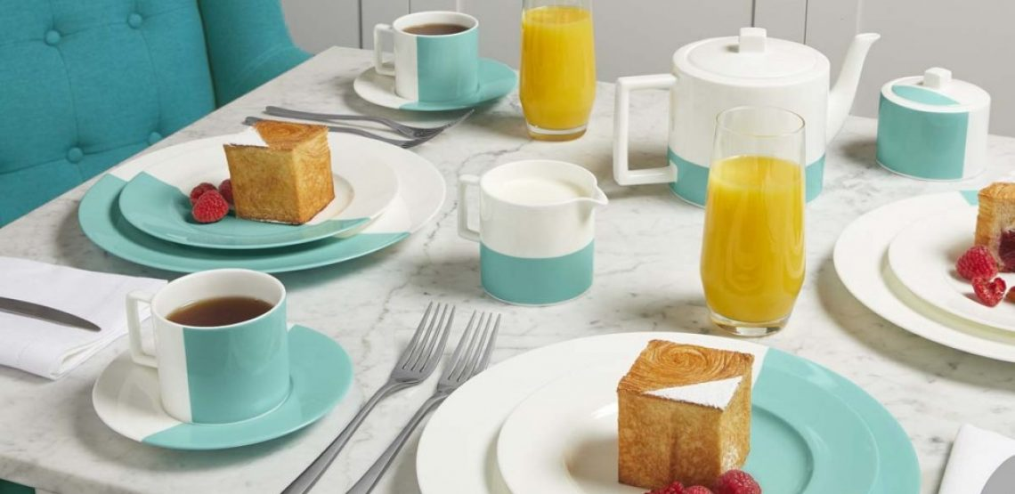The Tiffany Blue Box Café. A Londra