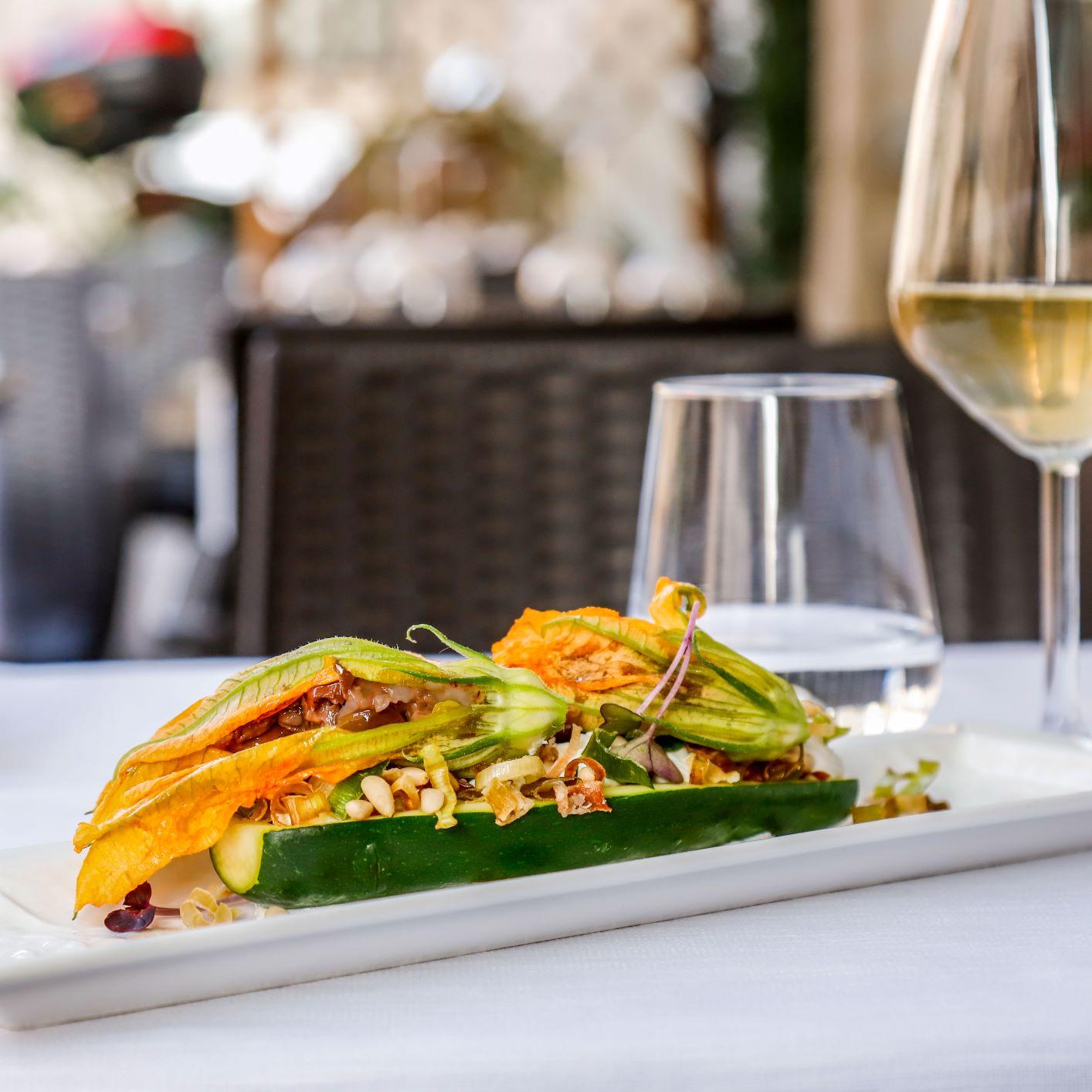 Come si mangia al ristorante All'Origine: gambero nascosto