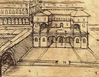 Leonardo, la peste e un progetto urbanistico visionario