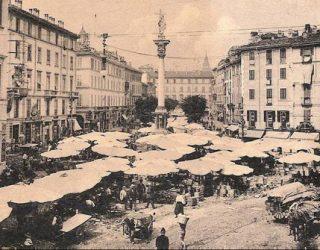 La colonna del Verziere: la peste e il mercato