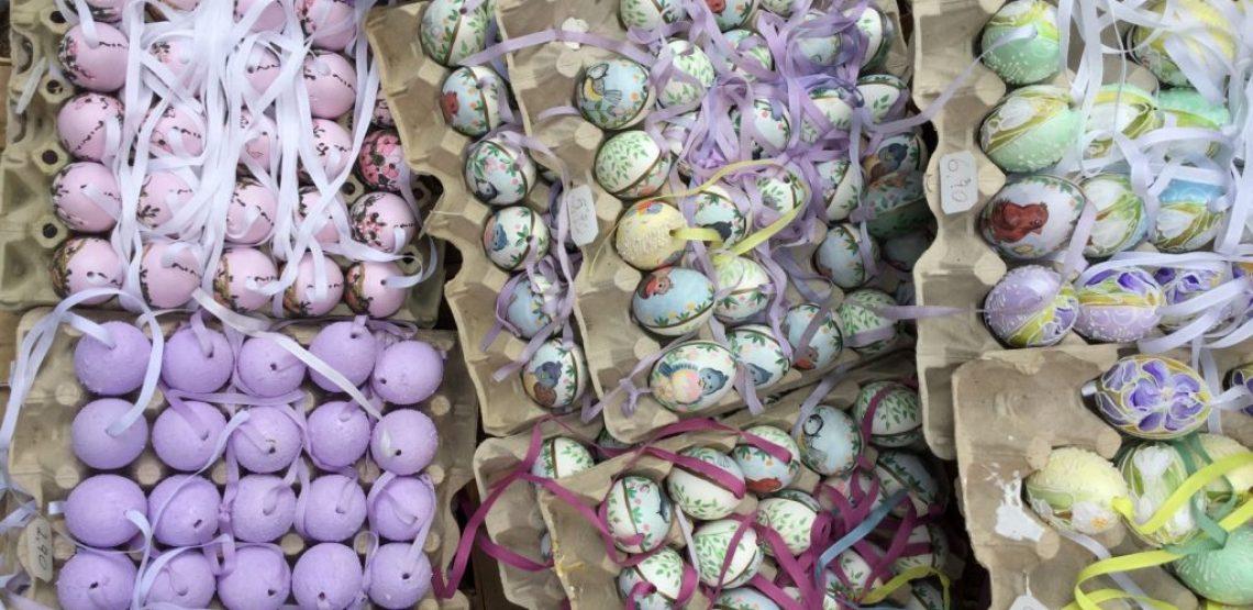 la storia e le leggende legate all'uovo di Pasqua