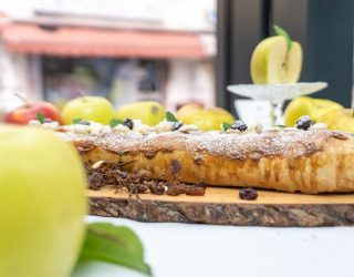 Lo strudel di mele del Trentino