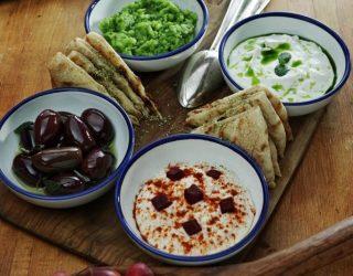 Il tagliere delle fantasticherie culinarie elleniche
