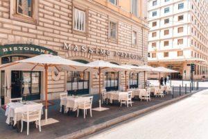 Fase 2 come cambia il ristorante: massimo d'azeglio roma