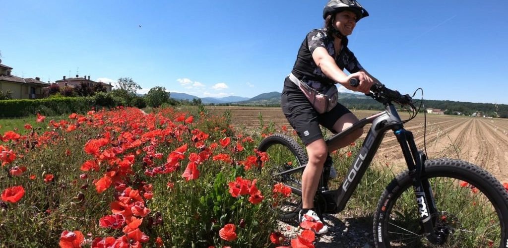 Itinerario in bicicletta in provincia di Piacenza