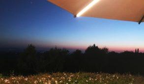 visioni di toscana - Castelfalfi al tramonto