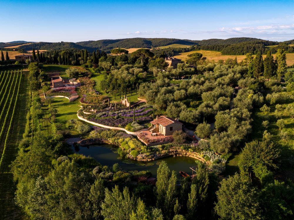 dizionario autunnale: villa parco Trecci_toscana