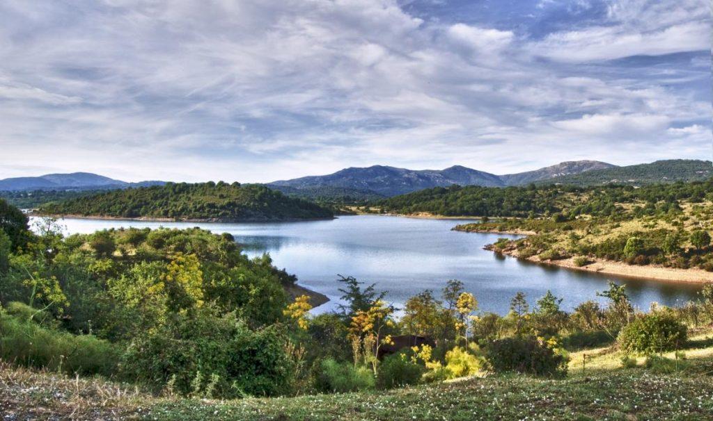 visita lago coghinas sardegna Oschiri