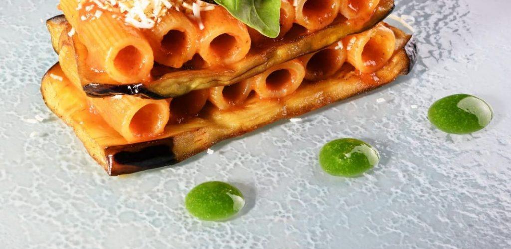 pasta alla norma ricetta siciliana, la ricetta dello chef Barone del ristorante Terrammare di Milano