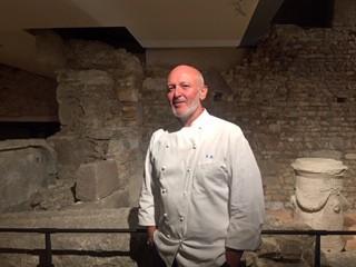 Alessandro breda, lo chef del ristorante gellius