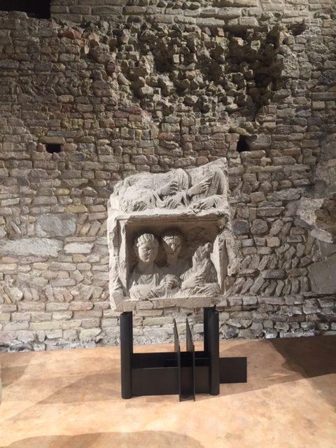 Gellius, ristorante tra resti archeologici