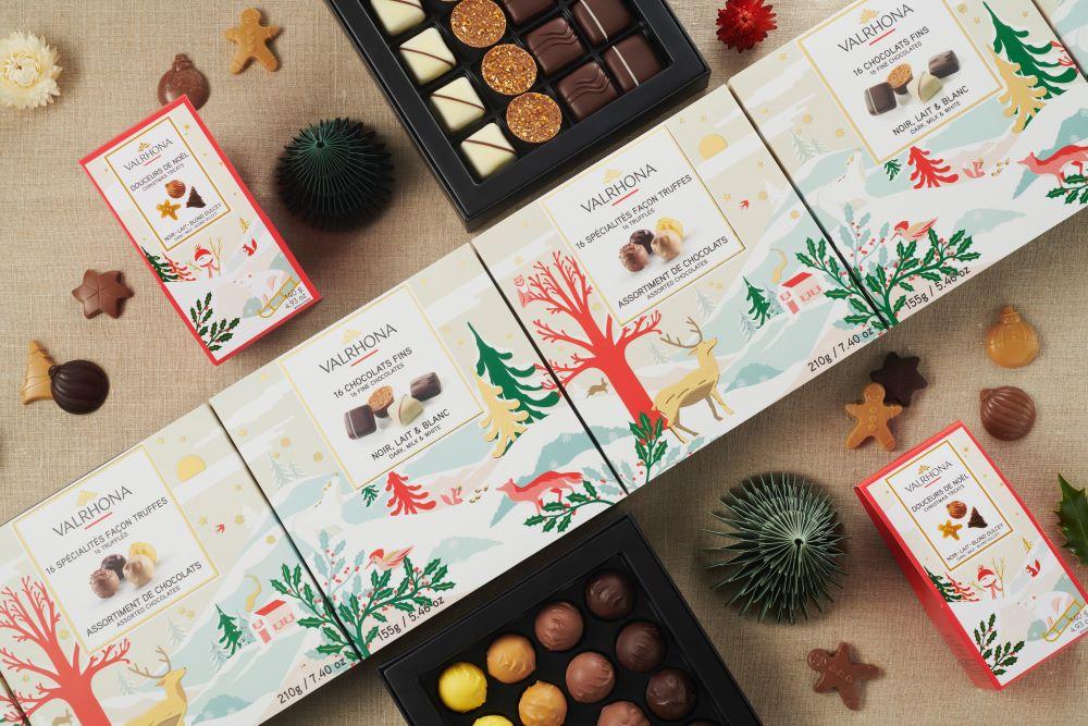 Cioccolato- Valrhona-natale